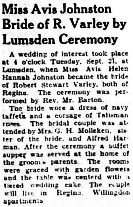 The Leader-Post (Regina), September 22, 1937, page 7, column 3.