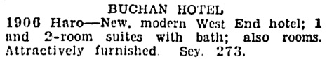 Vancouver Sun, December 31, 1935, page 14, column 5.