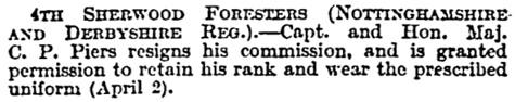The Times (London), April 2, 1910, page 40, column 4.