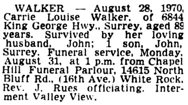 Vancouver Sun, August 29, 1970, page 34, column 4.