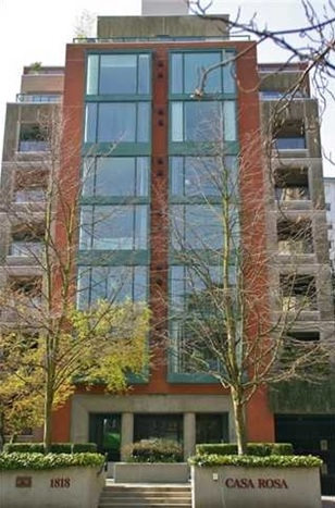 Casa Rosa, 1818 Robson St., Vancouver; http://www.westvancouverhome.ca/buildings/view/16709/casa-rosa/vancouver-west/west-end-vw/1818-robson-st-vancouver.