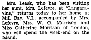 Vancouver Sun, September 29, 1933, page 10, column 1.
