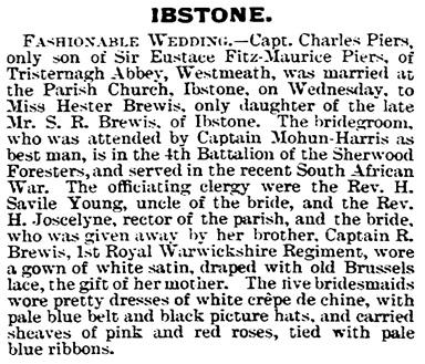 Bucks Herald (Aylesbury, England) (British Library Newspapers) (Aylesbury, England), Saturday, August 30, 1902, page 5.
