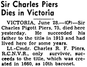 The Ottawa Journal, June 28, 1945, page 12, column 5.