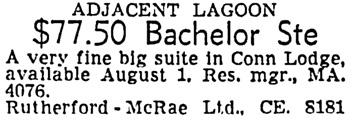 Vancouver Sun, July 23, 1955, page 41, column 7.