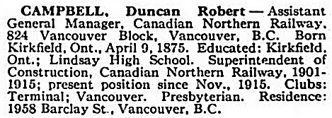 Who's Who and Why, 1917-1918; Vancouver, International Press, 1914, page 892; https://books.google.com/books?id=FBIzAQAAIAAJ&pg=PA892#v=onepage&q&f=false.