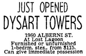 Vancouver Sun, June 14, 1968, page 51, column 7.