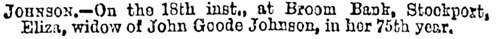 Manchester Weekly Times and Examiner (Manchester, England), September 21, 1878, page 8, column 1.