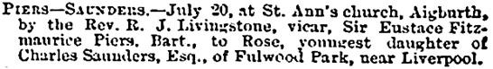 Bradford Observer (Bradford, England), July 29, 1869, page 4.