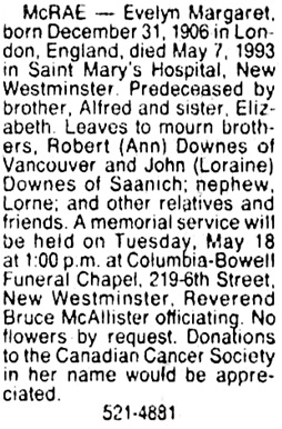 Vancouver Sun, May 12, 1993, page B8, column 8.