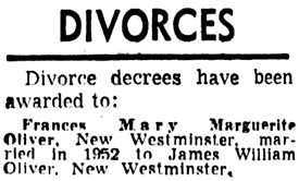 Vancouver Sun, May 12, 1958, page 31, column 1.