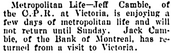 Vancouver Daily World, May 23, 1902, page 8, column 2.