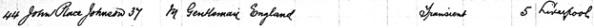 """New York Passenger Arrival Lists (Ellis Island), 1892-1924"", database with images, FamilySearch (https://familysearch.org/ark:/61903/1:1:J6T1-7M3 : 30 January 2018), John Place Johnson, 1893."