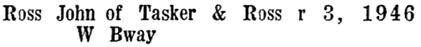 Wrigley's British Columbia Directory, 1927, page 1255 [edited image].