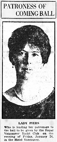Vancouver Daily World, January 17, 1923, page 7, column 4.