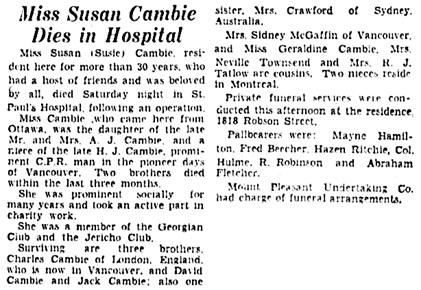 Vancouver Sun, April 16, 1934, page 3, columns 6-8.