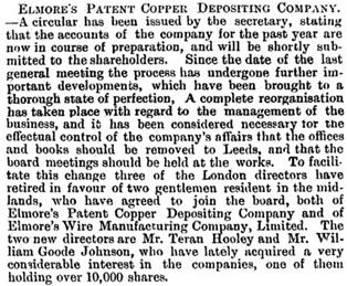 Iron (London, England), November 11, 1892, page 17, columns 2-3.