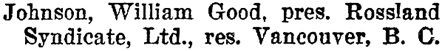 Henderson's BC Gazetteer and Directory, 1900-1901, page 557 (Rossland).