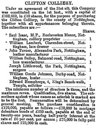 Sheffield Daily Telegraph (Sheffield, England), Saturday, April 15, 1876, Issue 6505, page 3.