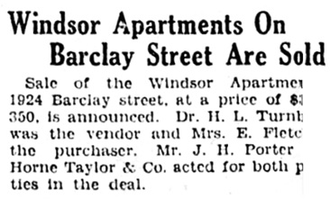 Vancouver Province, April 25, 1928, page 34, column 8 [best available image].