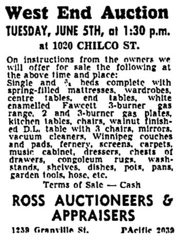 Vancouver Sun, June 4, 1951, page 29, column 6.
