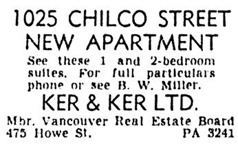 Vancouver Province, December 21, 1951, page 30, column 7.