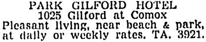 Vancouver Sun, June 11, 1955, page 40, column 4.
