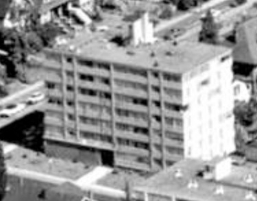1050 Chilco Street; 1962; detail from West End from the air, Vancouver City Archives; Air P96; https://searcharchives.vancouver.ca/west-end-from-air.