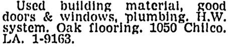 Vancouver Sun, April 7, 1958, page 28, column 4.