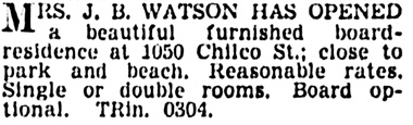 Vancouver Province, May 20, 1939, page 29, column 7.