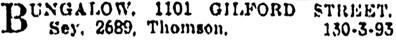 Vancouver Province, July 11, 1917, page 20, column 2.