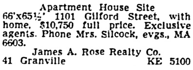 Vancouver Province, October 7, 1950, page 30, column 2.