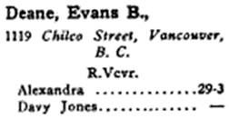 Lloyd's Register of American Yachts; New York, Lloyd's Register of Shipping, 1917, page 397, column 1; https://books.google.com/books?id=x9VLAAAAYAAJ&pg=PA397#v=onepage&q&f=false.