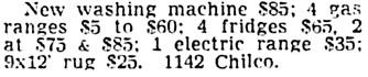 Vancouver Sun, August 3, 1955, page 40, column 2.