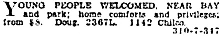 Vancouver Province, March 14, 1929, page 19, column 6.