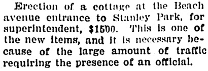 Vancouver Province, February 1, 1906, page 15, column 4.