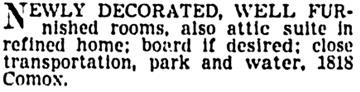 Vancouver Province, June 3, 1939, page 25, column 2.