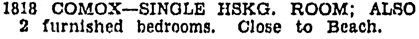 Vancouver Sun, May 23, 1929, page 16, column 6.