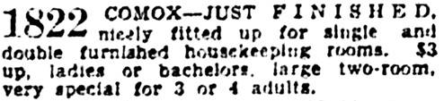 Vancouver Province, February 7, 1938, page 15, column 7.