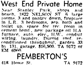 Vancouver Province, July 23, 1955, page 36, column 8.