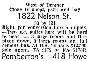 Vancouver Province, March 10, 1954, page 38, column 1.