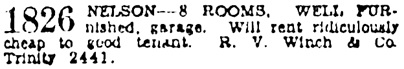 Vancouver Province, December 30, 1930, page 14, column 7.