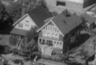1833 Comox Street and 1823 Comox Street; 1954; detail from First Beach; BO-54-211; http://vintageairphotos.com/bo-54-211/.