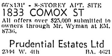 Vancouver Sun, April 27, 1955, page 51, column 5.