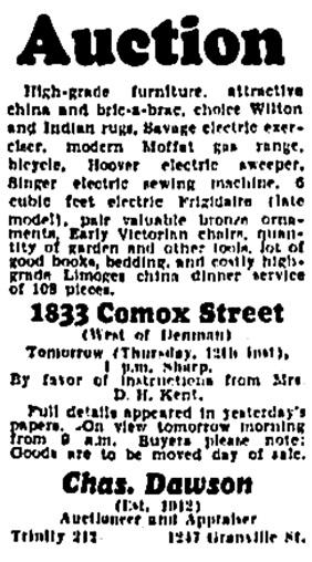 Vancouver Province, July 11, 1934, column 5.
