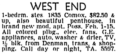 Vancouver Sun, December 29, 1955, page 26, column 7.