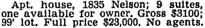 Vancouver Sun, October 15, 1946, page 19, column 3.