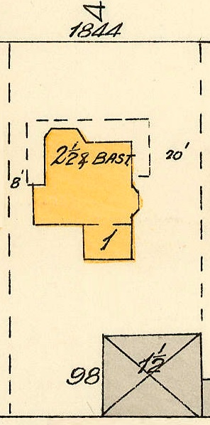 1844 Barclay Street; 1913, detail from Denman Street to Haro Street to Chilco Street to Comox Street; 1972-582.29 – Plate 54; Reference code: AM1594-MAP 383-: 1972-582.29; https://searcharchives.vancouver.ca/plate-54-denman-street-to-haro-street-to-chilco-street-to-comox-street.