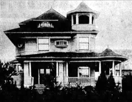 """1857 Nelson Street, """"Memories Linger On,"""" by Aileen Campbell, Vancouver Province, page 21, columns 1-3."""