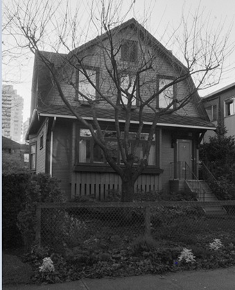 1860 Barclay Street, about 1985; Vancouver City Archives; CVA 790-1754; https://searcharchives.vancouver.ca/1860-barclay-street-2.